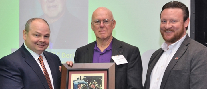 Bill Derickson Honored with Pioneer Award by Electric Cooperatives of Arkansas