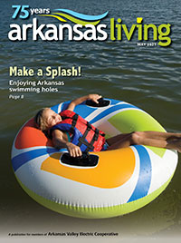 Current issue of Arkansas Living Magazine